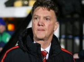 louis van gaal has issues to address after a pathetic return from manchester united's expensive flops against cambridge united